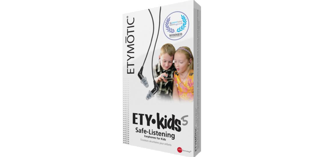 Earphones for children Earprotech ETY KIDS 5 ETYMOTIC